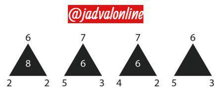 معمای مثلث ها
