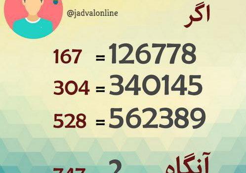 معمای سنجش هوش ریاضی