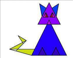 معمای گربه مثلثی