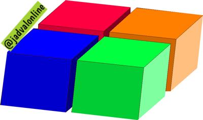 معمای ریاضی: مکعب مستطیل قطعه قطعه شده