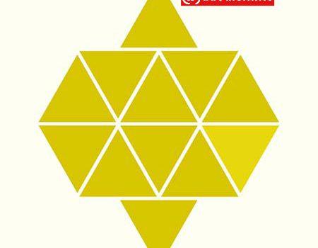تست هوش پیدا کردن مثلث متفاوت