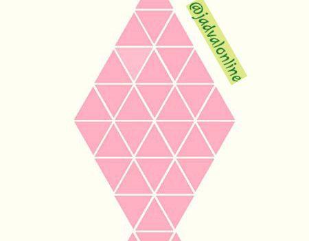 معمای یافتن مثلث متفاوت در تصویر